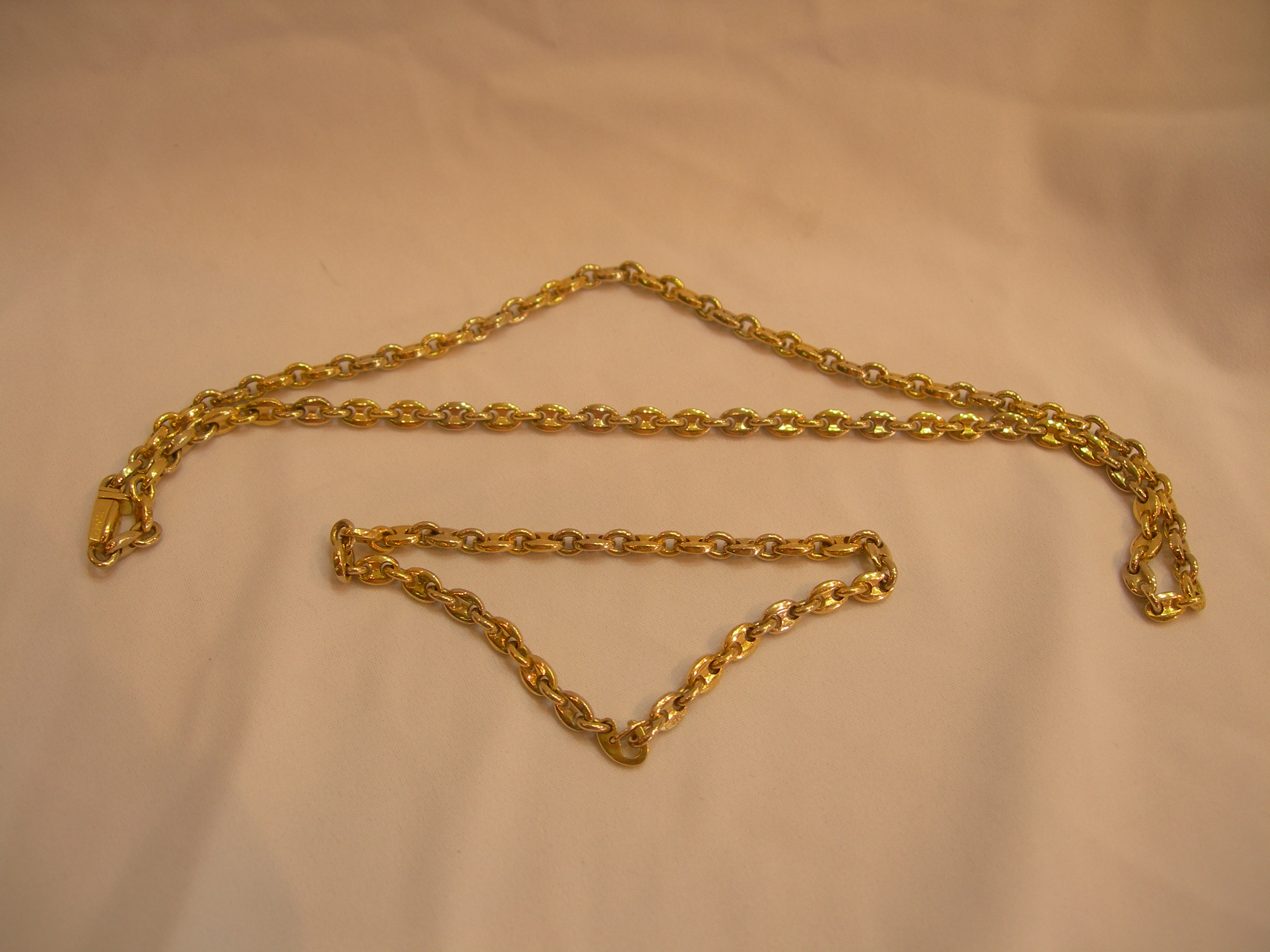 twig enchanted gold alphabet number l necklace
